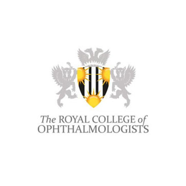 The logo of the Royal College of Ophthalmologists, where Allon Barsom is a member