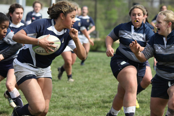 playing contact sport - rugby