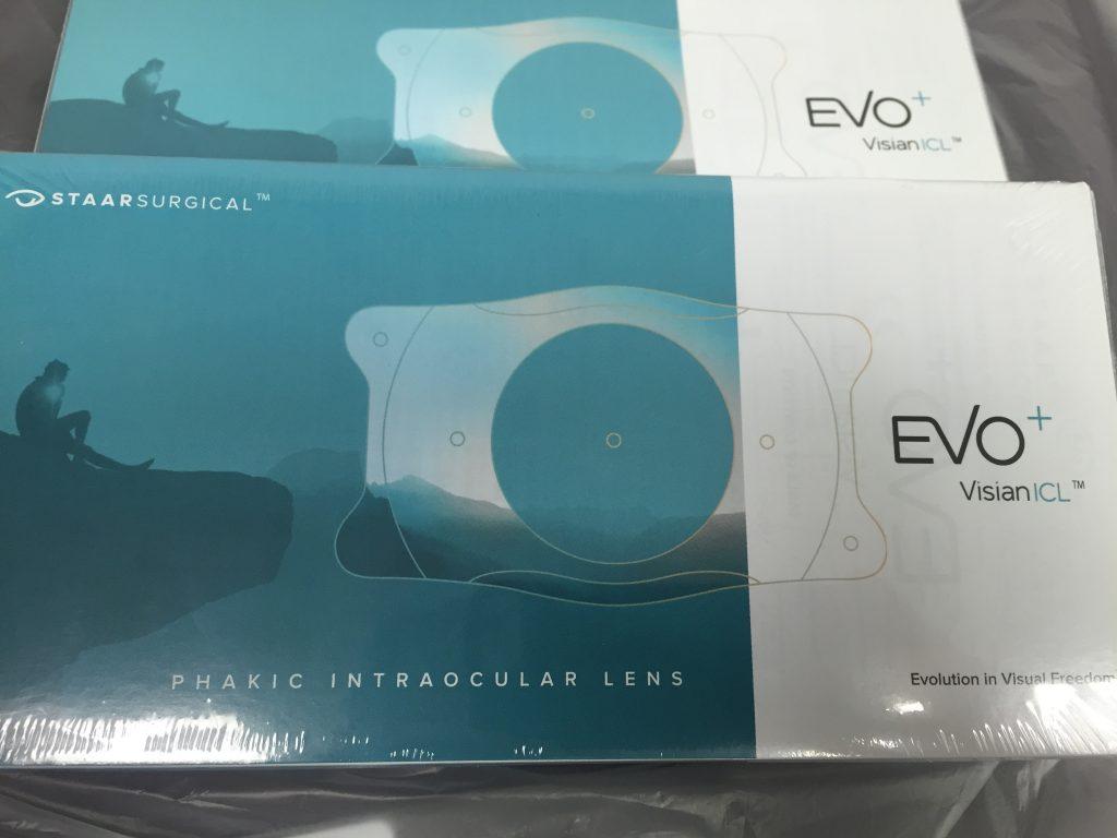 Implantable Collamer Lenses