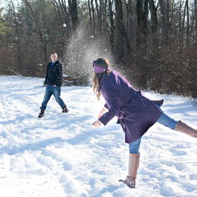 Throwing snowballs